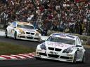 Andy Priaulx, Felix Porteiro, Brands Hatch, WTCC, 2007 | BMW Media